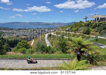 Skyline Rotorua Luge In Rotorua City - New Zealand