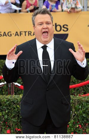 LOS ANGELES - JAN 25:  Eric Stonestreet at the 2015 Screen Actor Guild Awards at the Shrine Auditorium on January 25, 2015 in Los Angeles, CA