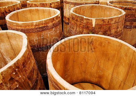 Cheese Barrels