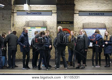 London Underground station Bayswater