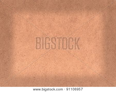 Blank hardboard background