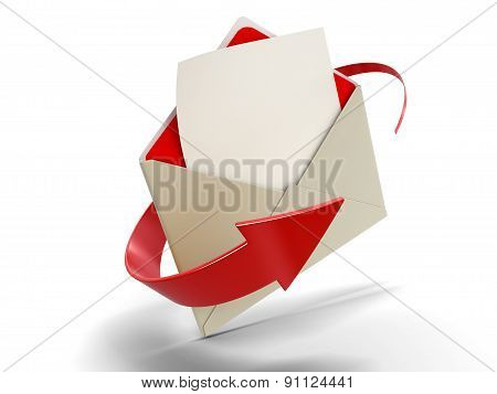 Letter (clipping path included)