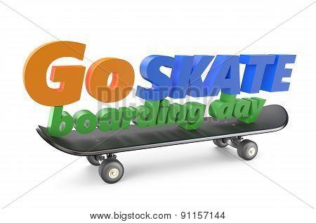 Go Skateboarding Day 21 June Concept