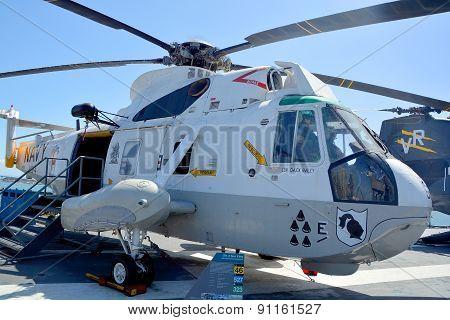 The Sikorsky SH-3 Sea King