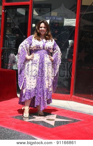 LOS ANGELES - MAY 19:  Melissa McCarthy at the Melissa McCarthy Hollywood Walk of Fame Ceremony at the TCL Chinese Theater on May 19, 2015 in Los Angeles, CA