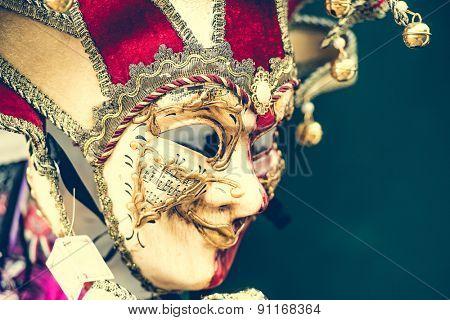 amazing carnival masks for traditional Venetian carnival fest