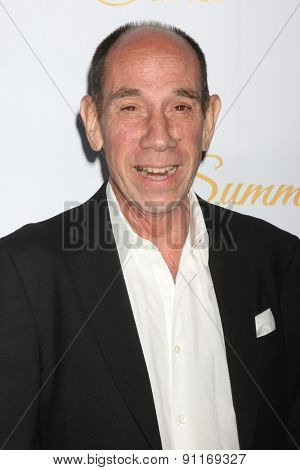 LOS ANGELES - MAY 18:  Miguel Ferrer at the CBS Summer Soiree 2015 at the London Hotel on May 18, 2015 in West Hollywood, CA