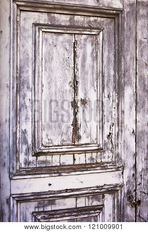 Distressed Gray Door Texture
