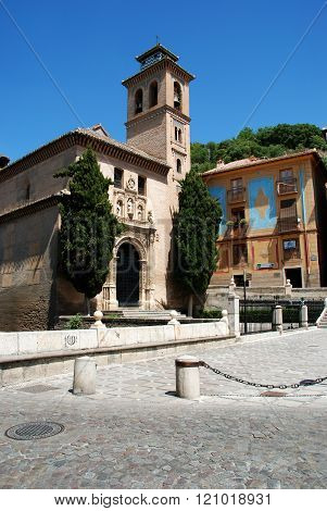 Santa Ana Church, Granada.
