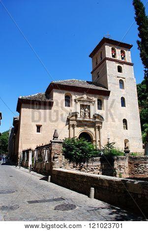 San Pedro church, Granada.