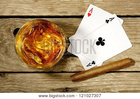 Whiskey And Gambling