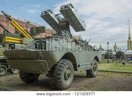 9P31-fighting Vehicle With Four 9M31 Missiles Antiaircraft- Missile System 9K31