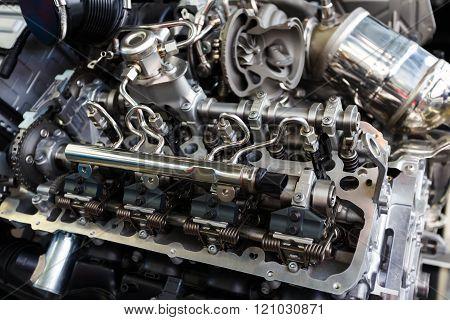 Bmw Engine Close Up