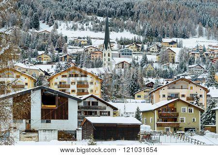 The village of Celerina
