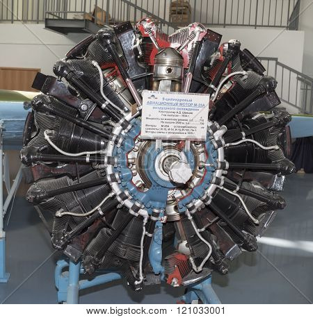 M-25A - Aircraft Engine (1934). Power,hp-730. Applied On The Aircraft: I-15, I-14, I-16, I-153