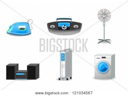 Six Appliances Set
