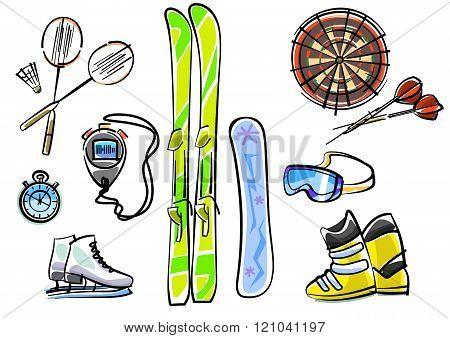 Sport Equipment Set