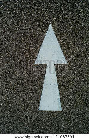 arrow as a guide