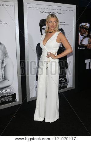 LOS ANGELES - MAR 3:  Stassi Schroeder at the The Brothers Grimsby Premiere at the Regency Village Theater on March 3, 2016 in Westwood, CA