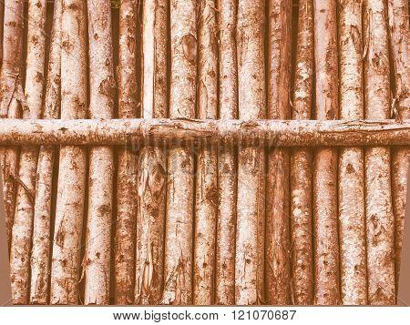 Wooden Palisade Vintage
