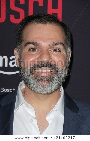 LOS ANGELES - MAR 3:  Ludwig Manukian at the Bosch Season 2 Premiere Screening at the Silver Screen Theater at the Pacific Design Center on March 3, 2016 in West Hollywood, CA