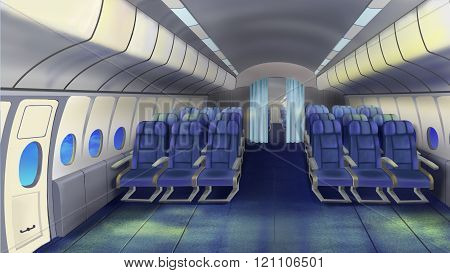 Seats In The Cabin