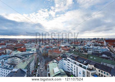 Cityscape Of Munich
