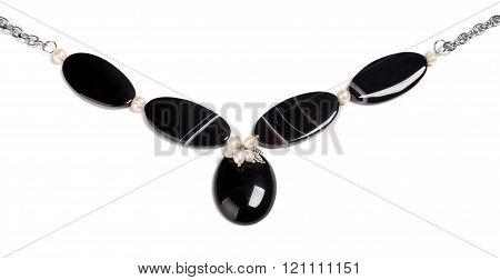 Necklace Made Of Semi-precious Gems