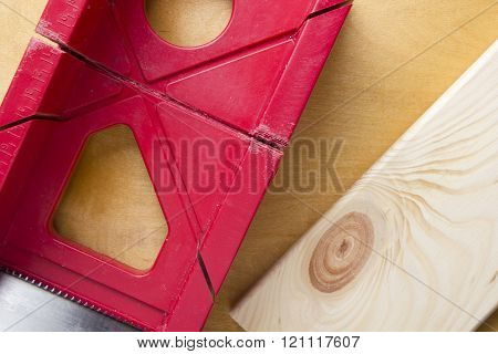 Cutting Boards Using The Miter Box And Saw.