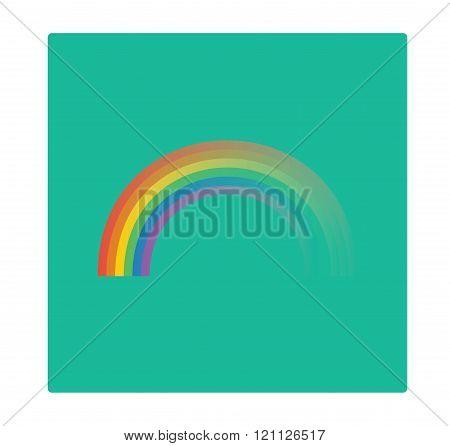 Disappearing Rainbow Illustration