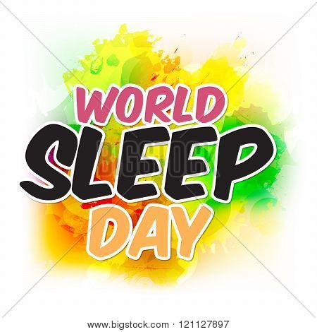 World Sleep Day