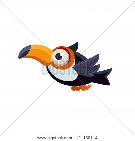 Cute Common Toucan