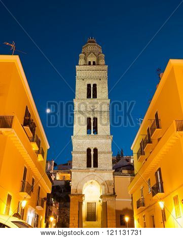 Bell Tower Of Cathedral Basilica, Gaeta