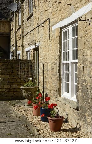 Cottages in Burford, England