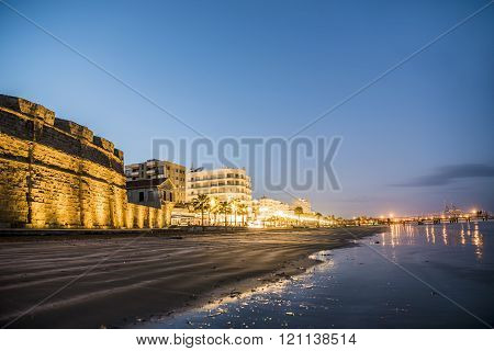 Beautiful view of the Castle in Larnaka