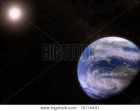 Earth in the universe