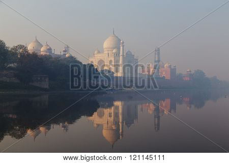 Taj Mahal in Uttar Pradesh, India