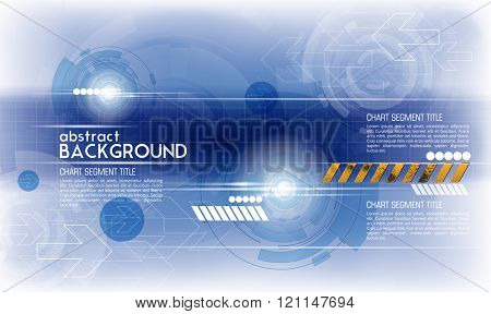 Background abstract technology