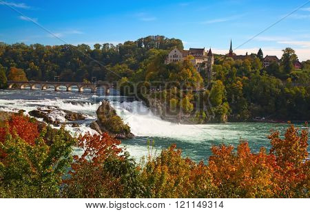 Rheinfall - the biggest waterfall in Europe