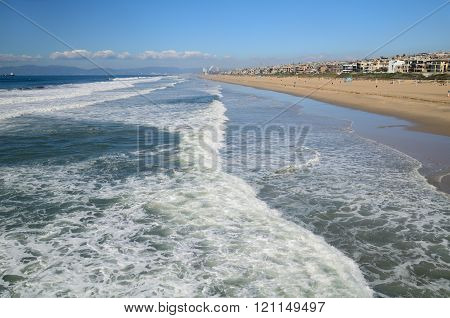 Los Angeles beach view