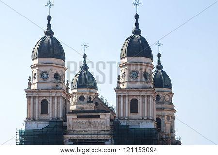 August Saint Parascheva Metropolitan Cathedral in Iasi, Romania. Largest orthodox church