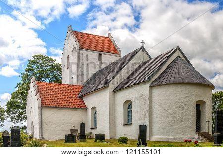 Ravlunda Church In Sweden