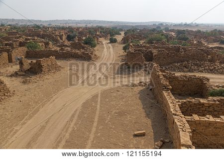 Kuldhara village in Jaisalmer, India