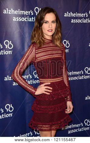 LOS ANGELES - MAR 9:  Brit Shaw at the A Night at Sardis - 2016 Alzheimer's Association Event at the Beverly Hilton Hotel on March 9, 2016 in Beverly Hills, CA