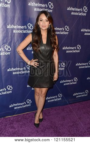 LOS ANGELES - MAR 9:  Janel Parrish at the A Night at Sardis - 2016 Alzheimer's Association Event at the Beverly Hilton Hotel on March 9, 2016 in Beverly Hills, CA