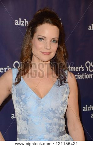 LOS ANGELES - MAR 9:  Kimberly Williams-Paisley at the A Night at Sardis - 2016 Alzheimer's Association Event at the Beverly Hilton Hotel on March 9, 2016 in Beverly Hills, CA