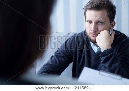 Listening To Psychotherapist
