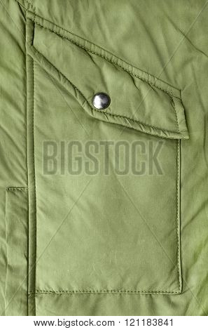 Jacket Pocket Closeup