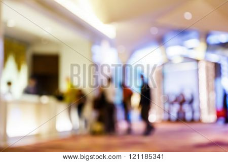Blurred People Hotel