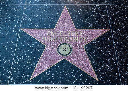 Englebert Humperdinck Hollywood Sign